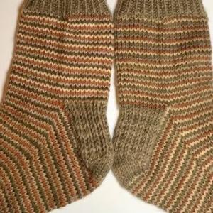 【棒針編み】靴下35号~ど田舎靴下~