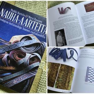 【カード織りの本】Nauha-aarteita ~フィンランド鉄器時代のカード織り~