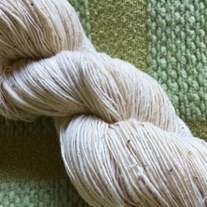 手紡ぎコットン単糸