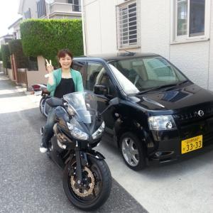 最初のバイクは?(*≧v≦)