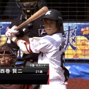 【練習試合】プロの洗礼【2020/6/5 VSロッテ】