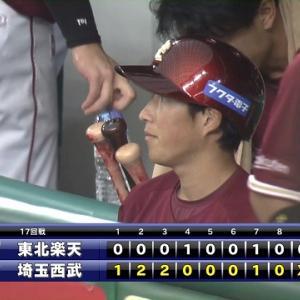 儚き夢【2020/9/25~2020/9/27 VS西武】