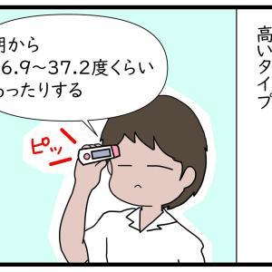 毎日の検温からみる体温