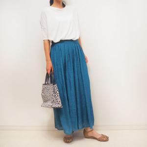 スタイルがよく見えるスカートみたいなスカンツ