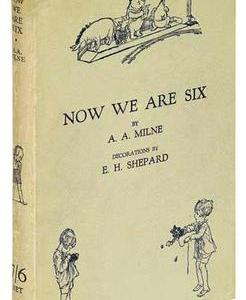 The End (Now We Are Six) by A. A. Milne A・A・ミルン 「おわりに」「おしまい」「6つになった」「おしまひ」
