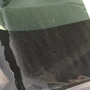 GBS-W(窓ガラス油膜除去剤)アイサイト搭載車の撥水コートの下地処理に!軽度のウロコもとれる。