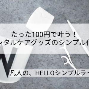 【セリア】100均でおしゃれにデンタルケア!糸ようじ&フロス