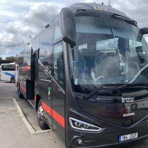 エストニアからラトビアはバスが便利