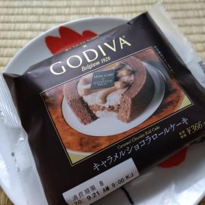 Uchi Café×GODIVA キャラメルショコラロールケーキ