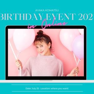こまっちゃん(小松彩夏)バースディーイベント 2021・7・25