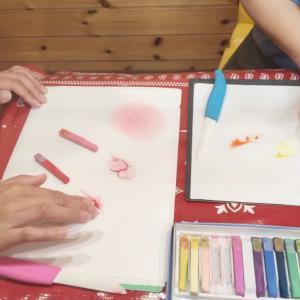 【母の日】 パステルアートでオリジナルの絵を描いてプレゼントしてみませんか!~カーネーションもアレンジ色々~金沢市 パステルアート体験会 あんこパステル
