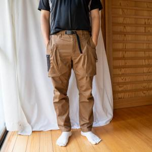 【ワークマン】キャンプにユーティリティ綿クライミングパンツが良いのでレビューします