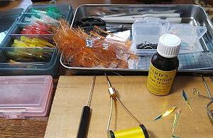 5月2日(土)沖メバルの針を仕上げる