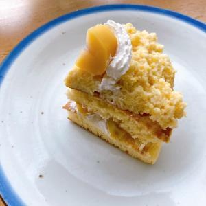 モンブラン風パンケーキ