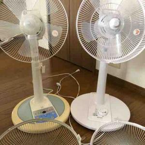 扇風機、私の保管方法。