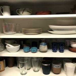 食器棚の見直し