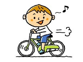 自転車に乗る人はタイヤ空気の点検を