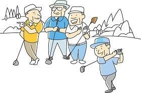 緊急事態宣言の中、ゴルフ場はほぼ満員