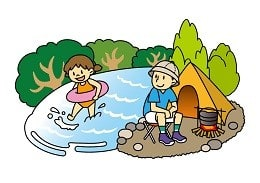 オリンピックできるのなら川遊びくらい大丈夫?