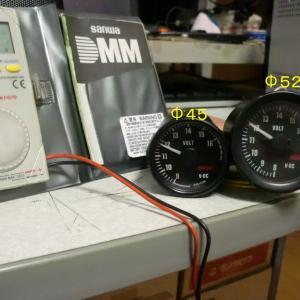 大森メーター製作所 EV0-012Z Φ45 電圧計
