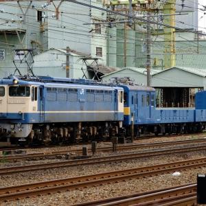 21年8月6日撮影 (クル144・クモル145 京都鉄博展示配給、DD51+ロンチキ)