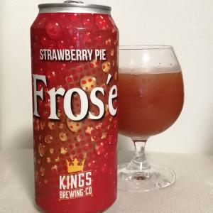 Kings Brewing Fros'e Strawberry Pie