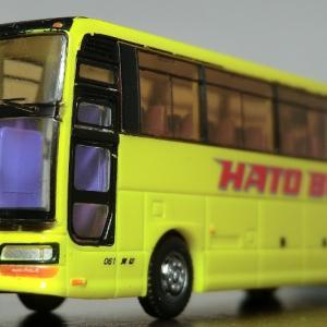 バスコレ17弾でたった1台だけの・・はとバス いすゞガーラⅢ! NEWバージョン