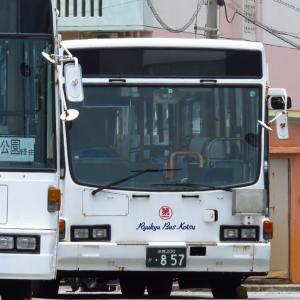 元【東急バス】いすゞキュービックが名護バスタに配備された!|沖縄200か857