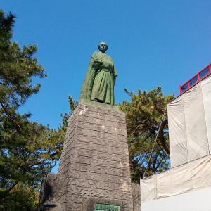 日曜日の写真館★高知桂浜で坂本龍馬を想う。。
