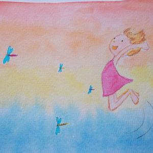 日曜日の写真館★素敵な絵を描いて頂きました!★無事誕生日