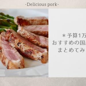 ふるさと納税の国産豚肉 予算1万円で狙えるおすすめの返礼品まとめ