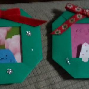 クリスマス会のお土産を作りました♪