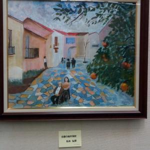 父の趣味 油絵の展示会