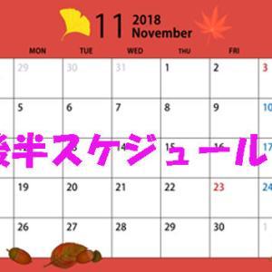11月後半スケジュール 夢野つばさ出勤日決定!!