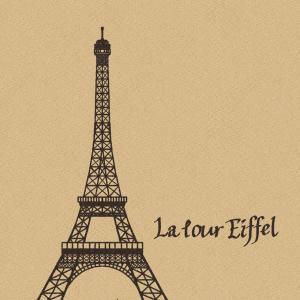今日はエッフェル塔の日