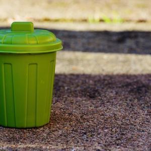 シエラのマルチスペースにシンデレラフィットの無印のゴミ箱 | 個数・大きさ・使い勝手レビュー
