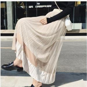 【韓国ファッション通販口コミ】Running Piggyでプリーツスカートを注文してみたら…?