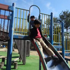 子供たちと公園めぐり