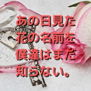 あの花のめんまの手紙の願いとは?映画「あの日見た花の名前を僕達はまだ知らない。(あらすじ・感想)」おすすめです!
