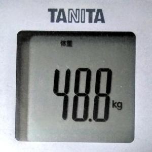 ダイエットで目標体重45.0kg!続ければ変わる!~現在48.2kg