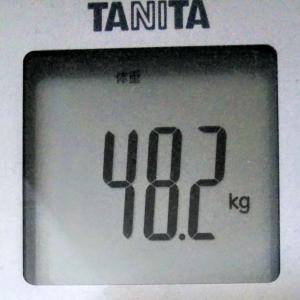 ダイエットで目標体重45.0kg!続ければ変わる!~現在49.2kg