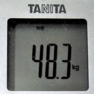 ダイエットで目標体重45.0kg!続ければ変わる!~現在48.4kg