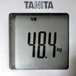 ダイエットで目標体重45.0kg!続ければ変わる!~現在48.1kg