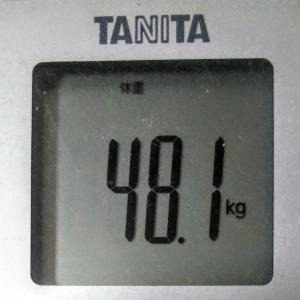 ダイエットで目標体重45.0kg!続ければ変わる!~現在47.7kg