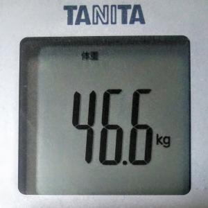 目指せナイスバディ!続ければ、なれる!~現在46.4kg