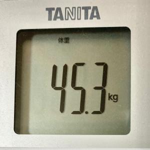 目指せナイスバディ!続ければ、なれる!~現在45.1kg