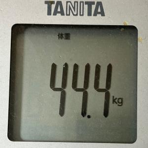 続ければ、なれる!~現在45.2kg
