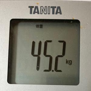 ダイエット記録:続ける!叶える!~現在46.2kg