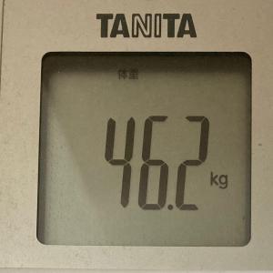 ダイエット記録:続ける!叶える!~現在46.0kg