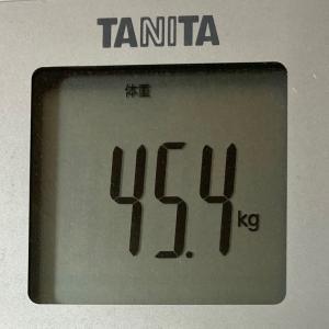 ダイエット記録:続ける!叶える!~現在46.1kg